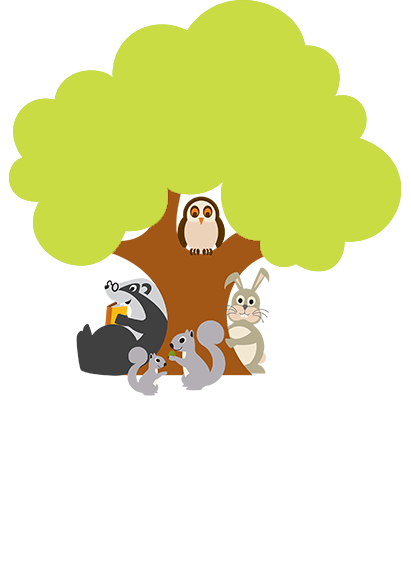 Highwood Nursery animal characters